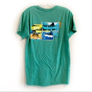 4/$20 GUY HARVEY Green Graphic Tee